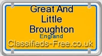 Great and Little Broughton board